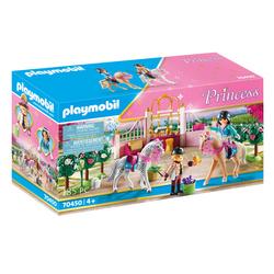 70450 - Playmobil Princess - Princesse avec chevaux et instructeur