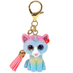 Porte clés Mini Boo's - Heather le chat licorne