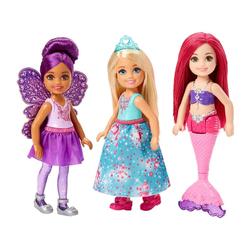 Coffret 3 mini-poupées Chelsea - Barbie Dreamtopia