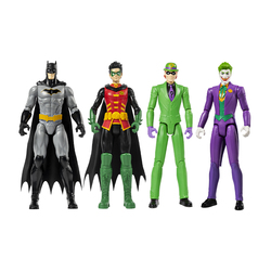 Pack de 4 figurines Batman - 30 cm
