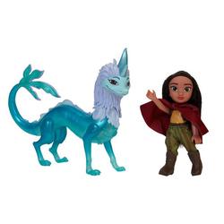 Poupée Raya 15 cm et Sisu - Raya et le dernier Dragon