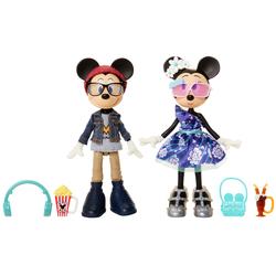 Coffret Poupées Disney Mickey et Minnie au cinéma