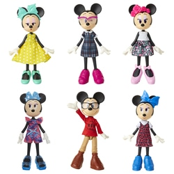 Poupée articulée Disney Minnie Style