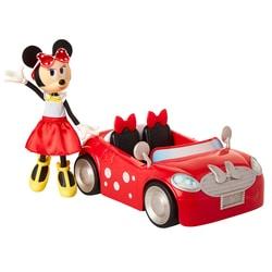 Coffret Poupée Disney Minnie et son coupe cabriolet