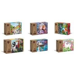 Puzzle 104 pièces assortiment - Play For Future