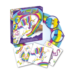 Set d'activités dessins Rainbow Brush