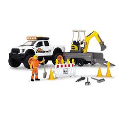 Voiture Pick up Playlife construction 41 cm et accessoires