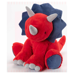 Peluche dinosaure - Carson le Triceratops