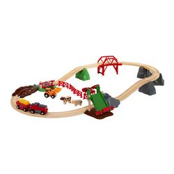 Brio World 33984 - Circuit de la ferme et locomotive