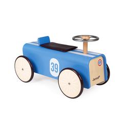 Porteur en bois voiture