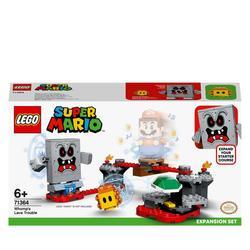 71364 - LEGO® Super Mario - Ensemble d'extension la forteresse de lave de Whomp
