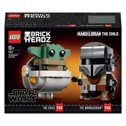 75317 - LEGO® BrickHeadz™- The Mandalorian et l'Enfant