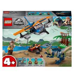 75942 - LEGO® Jurassic World - Vélociraptor la mission de sauvetage en avion