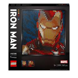 31199 - LEGO® Art - Iron Man de Marvel Studios