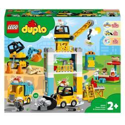 10933 - LEGO® Duplo - La grue et les engins de construction