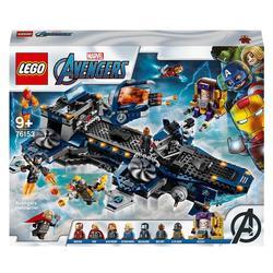76153 - LEGO® Marvel L'héliporteur des Avengers