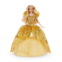 Poupée Barbie blonde Noël 2020