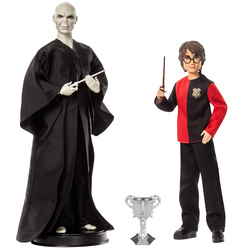 Figurines Harry Potter et Voldemort