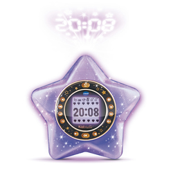 Radio réveil projecteur KidiMagic StarLight violet