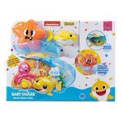 Playset toboggan et poissons Baby Shark