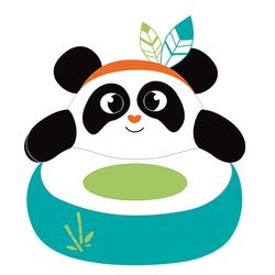 Panda fauteuil peluche