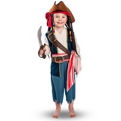 Déguisement Captain Jack 3/5 ans