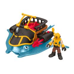 Figurine bateau de pirate - Imaginext