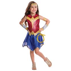 Déguisement Wonder Woman avec lasso 5/6 ans