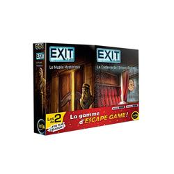 Coffret Exit - Le Tombeau du pharaon et Le trésor englouti