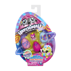 Coffret 4 Hatchimals - Cosmic Candy