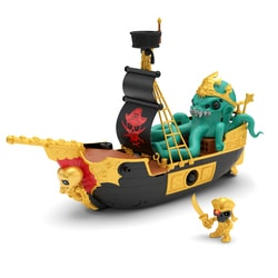 Trésor X Le bateau pirate