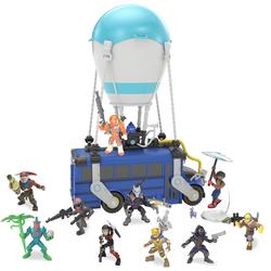 Fortnite bus avec 10 figurines