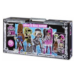 Coffret Super surprise 8 poupées L.O.L Suprise Remix