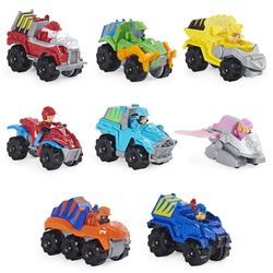 Coffret 8 véhicules True Metal Dino Rescue - Pat'Patrouille