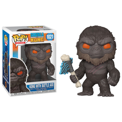 Funko POP Godzilla Vs Kong - Kong With Axe