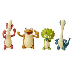 Gigantosaurus - Coffret de 4 figurines articulées