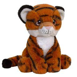 Peluche écologique tigre 18 cm
