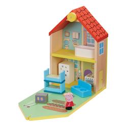 Maison en bois Peppa Pig et 2 figurines