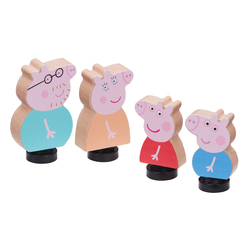 Coffret 4 figurines famille Peppa Pig