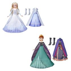 Poupée tenue magique - La Reine des Neiges 2