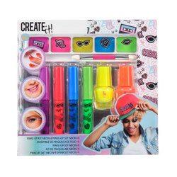 Set de maquillage fluorescent 7 pièces