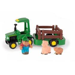 Coffret véhicules de la ferme Je transporte mes animaux