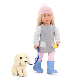 Poupée Our Génération 46 cm Meagan avec chien