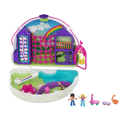 Polly Pocket-Sac surprise nuage arc en ciel