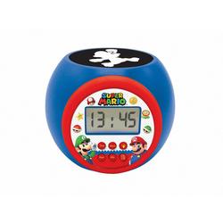 Réveil Mario rond avec projection