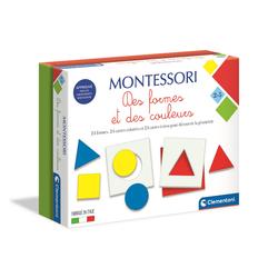 Montessori les formes et les couleurs