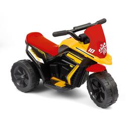 Trimoto électrique rouge et noire 6V