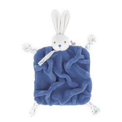 Doudou lapinou bleu 20 cm