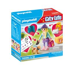 70596 - Playmobil City Life - Mannequin avec chien