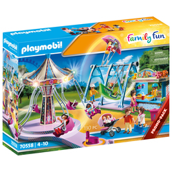 70558 - Playmobil Family Fun - Le parc d'attractions